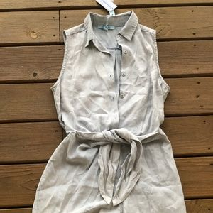 NWT Denim Romper